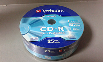 Диски CD-R  SP-025 Verbatim