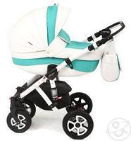 Универсальная детская коляска Adamex Barletta  (экокожа)  2в1 (331S), фото 1