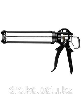 Пистолет для герметика полуоткрытый KRAFTOOL 06673_z01, поворотный, 320 мл