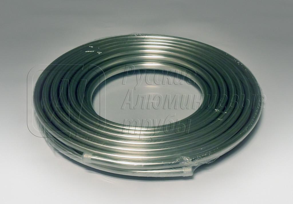 Труба для монтажа кондиционеров алюминиевая 5/8*15,87*1,5 бухта 15 метров.