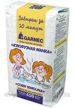 Кукурузная манка Гарнец 450 гр безглютеновая