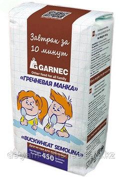 Гречневая манка Гарнец 450 гр безглютеновая