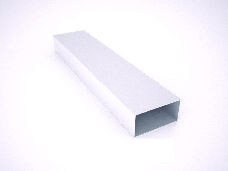 Тюбинг алюминиевый профиль 2,5см х 5см * 1мм