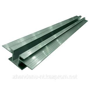 Профиль алюминиевый для алюкобонда Н образный №2