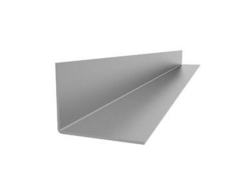 Уголок алюминиевый L образный 25мм х 25мм