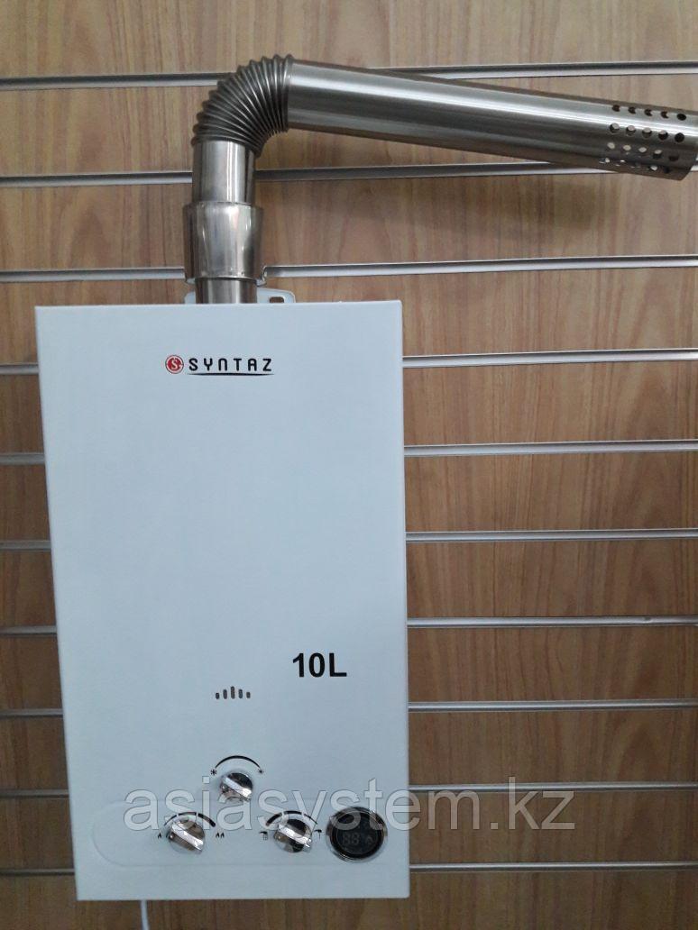 SYNTAZ  FTK 10L проточный газовый водонагреватель (колонка) энергозависимые