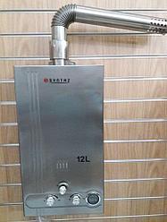 SYNTAZ  FSS 12L проточный газовый водонагреватель (колонка) энергозависимые