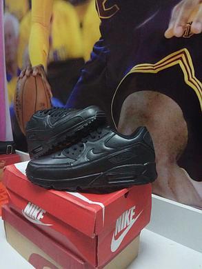Кроссовки Nike Air Max 90 черные, фото 2
