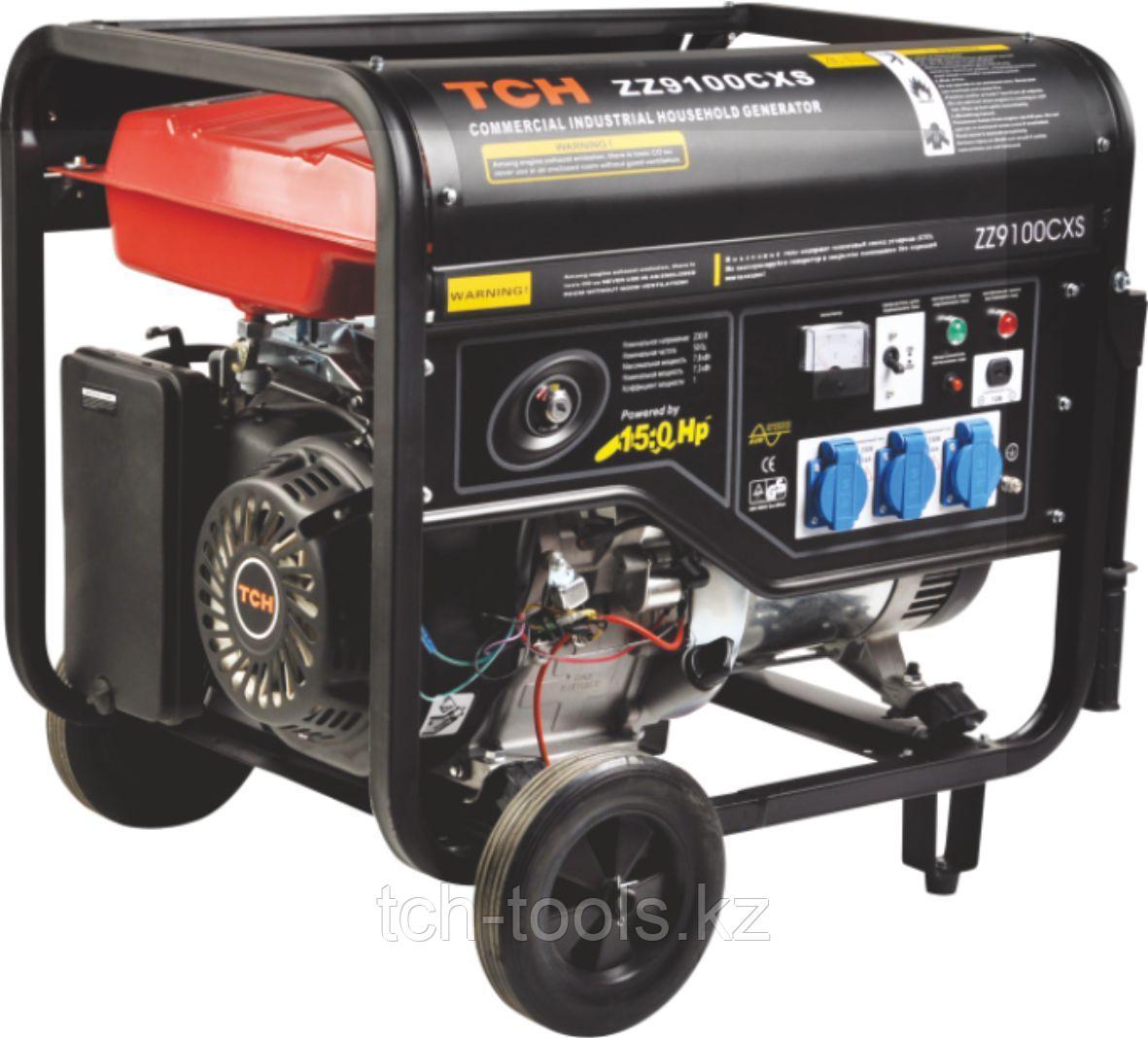 Бензиновый генератор 7 кВт 220В