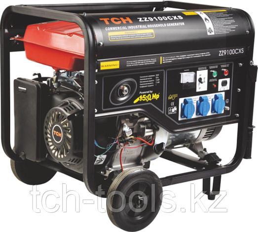 Бензиновый генератор 7 кВт 220В, фото 2