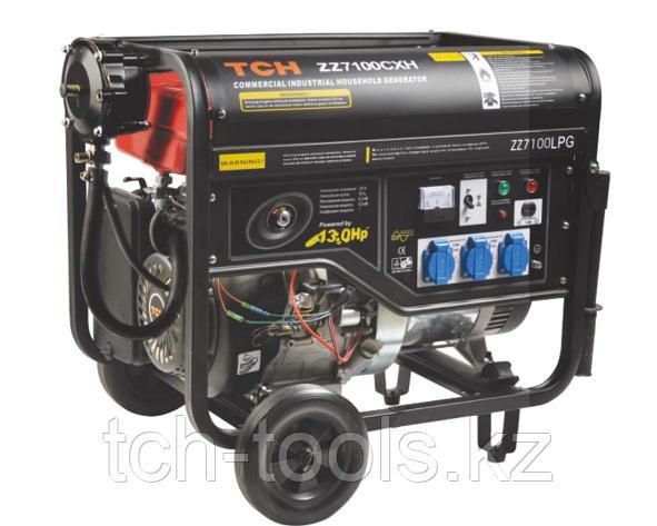 Бензиновый генератор 5.5 кВт 220В, фото 2