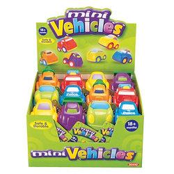 "Машинки в ассортименте, серия ""Mini Vehicles"", 24 шт. в дисплее"