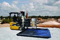 Берма для локализации проливов масла и технических жидкостей