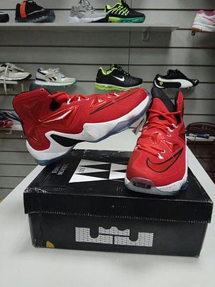 Nike Lebron 13 (XllI) Red баскетбольные кроссовки, фото 2