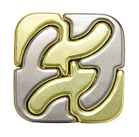 Cast Puzzle Головоломка Square (сложность 6/6)