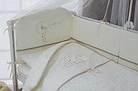 Детский комплект в кровать 6 предметов Perina LE PETIT BEBE Молочно-кофейный, фото 1