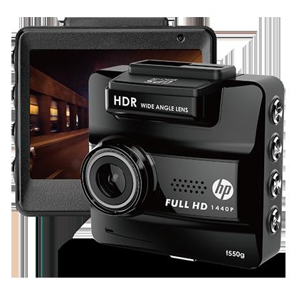 Видеорегистратор HP F550G черный