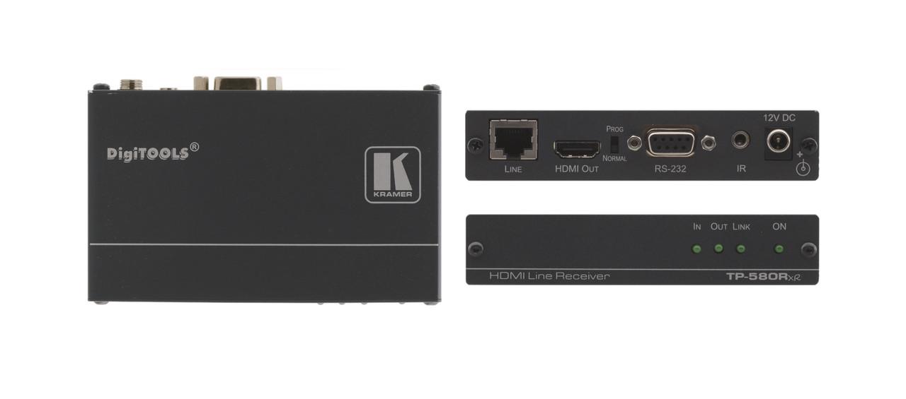 Приёмник Kramer TP-580RXR HDMI, RS-232 и ИК по витой паре HDBaseT; до 180 м