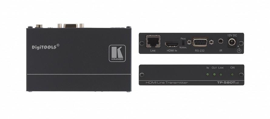 Передатчик Kramer TP-580T HDMI, RS-232 и ИК по витой паре HDBaseT; до 70 м