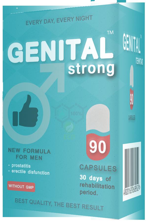 GENITAL (Гениталь) - Препарат для стимуляции потенции