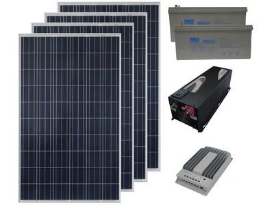 Солнечная электростанция 3.6 кВт/день