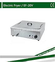Фритюрница промышленная для жарки картофельных чипсов ZH 20V(12-литровая)