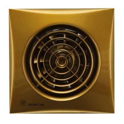 Вытяжка для ванной Soler & Palau SILENT-100 CZ Gold