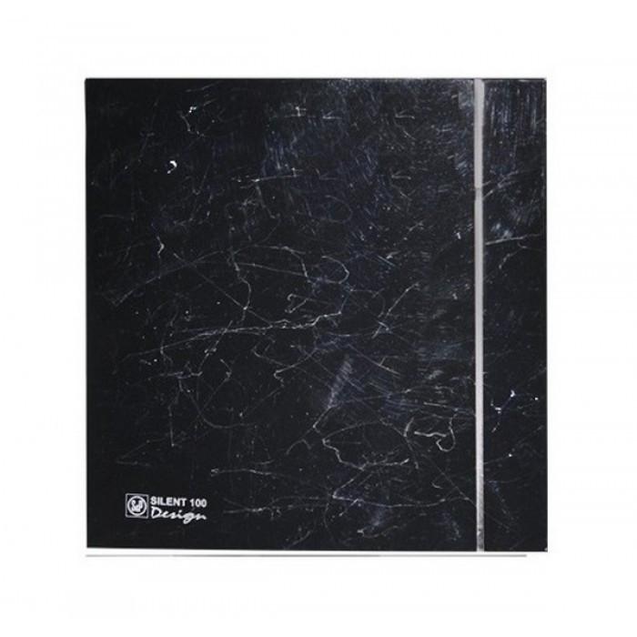 Вытяжка для ванной Soler & Palau SILENT-100 CRZ MARBLE BLACK DESIGN-4C (230V 50)