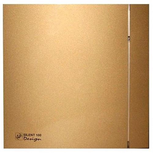 Вытяжка для ванной Soler & Palau SILENT-100 CZ GOLD DESIGN-4C