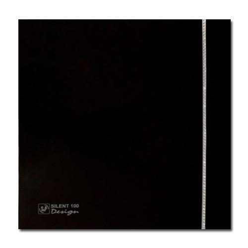 Вытяжка для ванной Soler & Palau SILENT-100 CZ BLACK SWAROVSKI DESIGN (230V 50)
