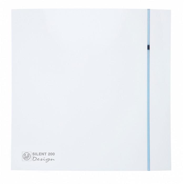 Вытяжка для ванной Soler & Palau SILENT-200 CHZ DESIGN-3C