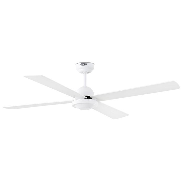 Вентилятор без подсветки Faro IBIZA BLANCO