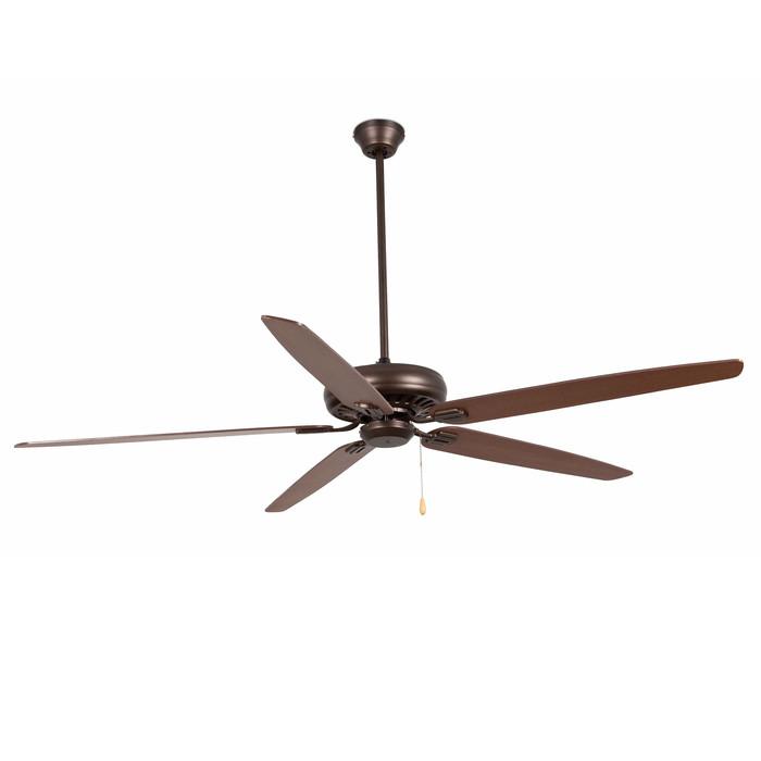 Вентилятор без подсветки Faro NISOS MARRON