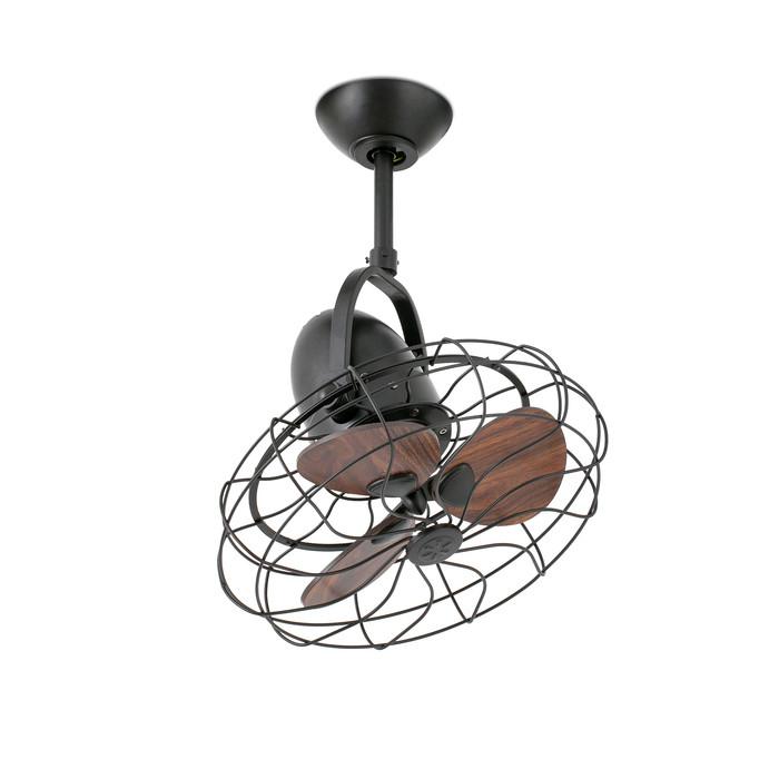 Вентилятор без подсветки Faro KEIKI MARRON