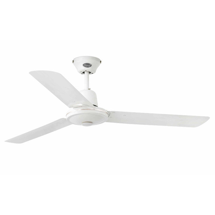 Вентилятор без подсветки Faro ECO INDUS BLANCO