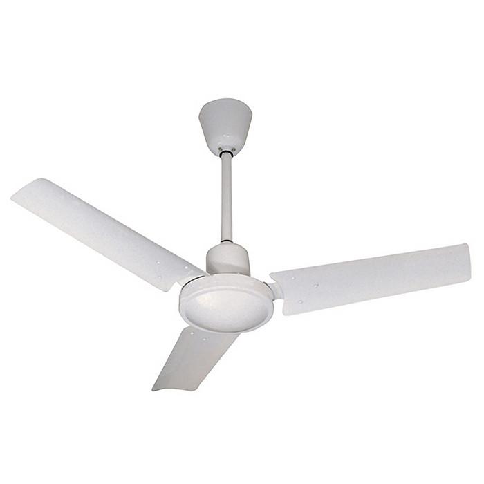 Вентилятор без подсветки Faro INDUS BLANCO