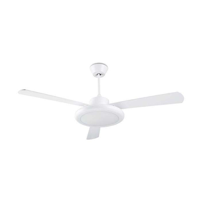 Вентилятор с подсветкой Leds-C4 BAHIA White