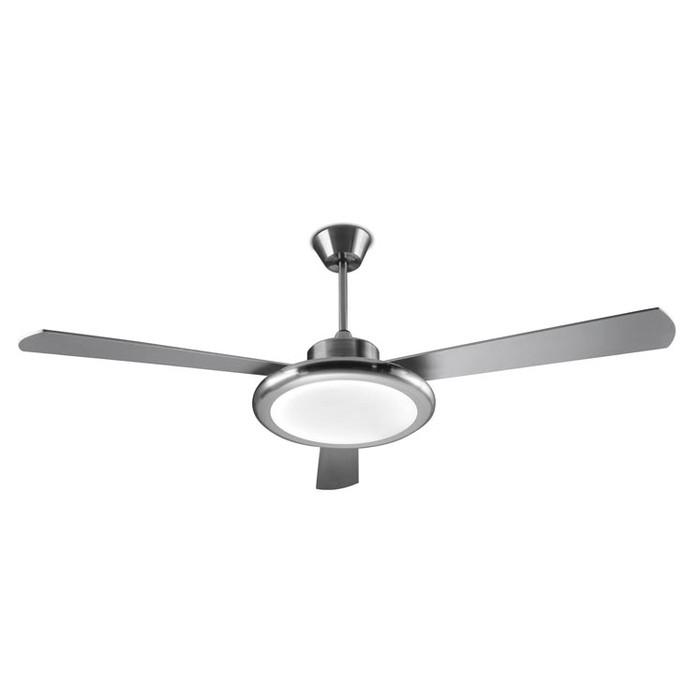 Вентилятор с подсветкой Leds-C4 BAHIA Satin Nickel