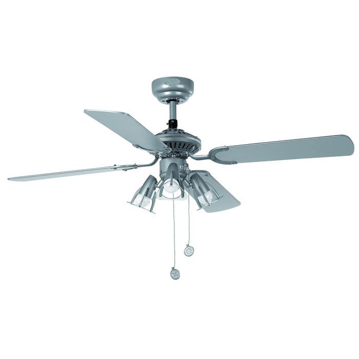 Вентилятор с подсветкой Faro JACA GRIS