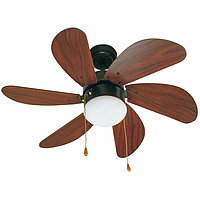 Вентилятор с подсветкой Faro PALAO MARRON