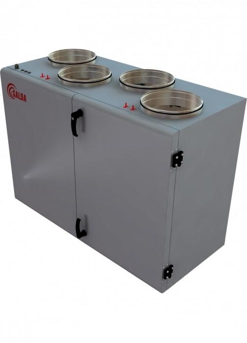 Приточно-вытяжная вентиляционная установка 1000 м3/ч Salda RIS 1000 VWR 3.0