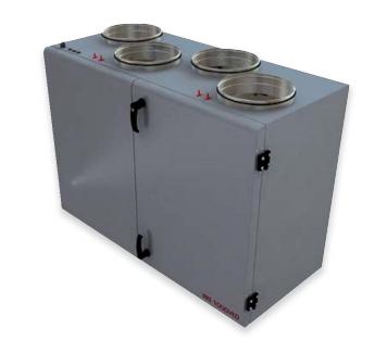 Приточно-вытяжная вентиляционная установка 1000 м3/ч DVS RIS 1000 VW 3.0
