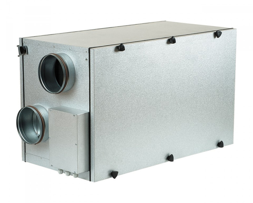 Приточно-вытяжная вентиляционная установка 1000 м3/ч Vents ВУТ 800 Г ЕС с LCD