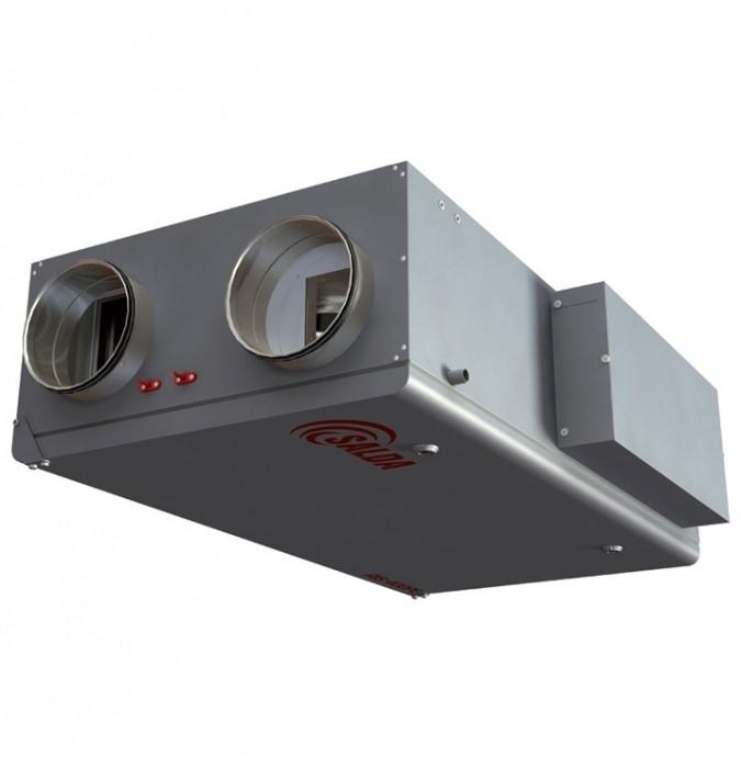 Приточно-вытяжная вентиляционная установка 1000 м3/ч Salda RIS 1000 PW 3.0