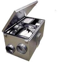Приточно-вытяжная вентиляционная установка 1000 м3/ч Ostberg HERU 250 S EC A