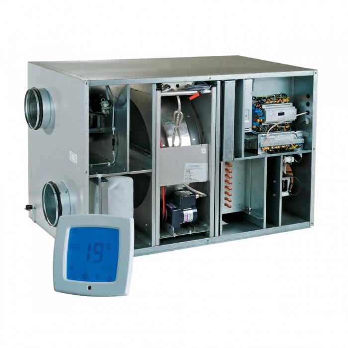 Приточно-вытяжная вентиляционная установка 1000 м3/ч Vents ВУТ Р 900 ВГ ЕС А17
