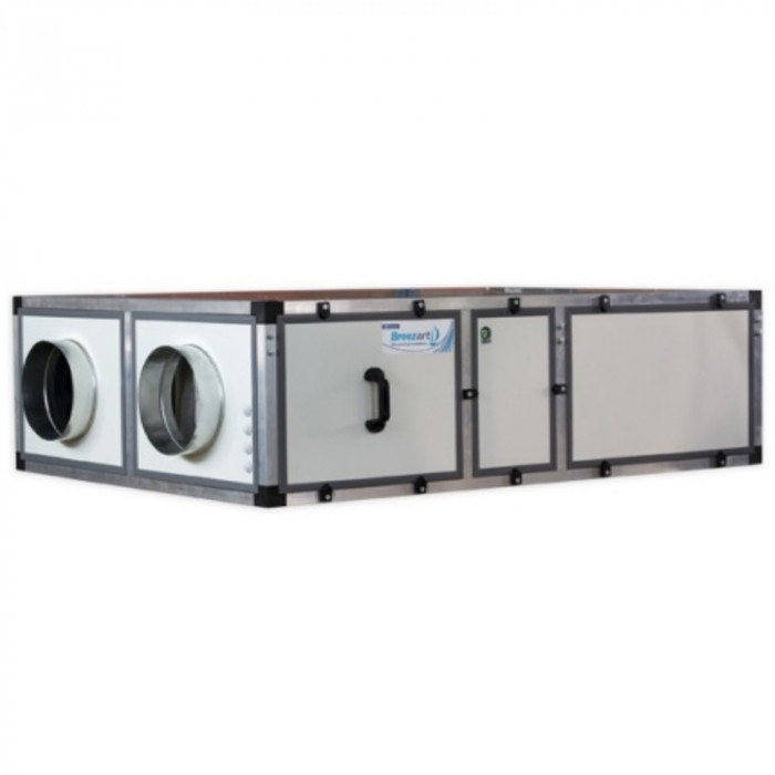 Приточно-вытяжная вентиляционная установка 1000 м3/ч Breezart 1000 Lux RP SB 3,2-220