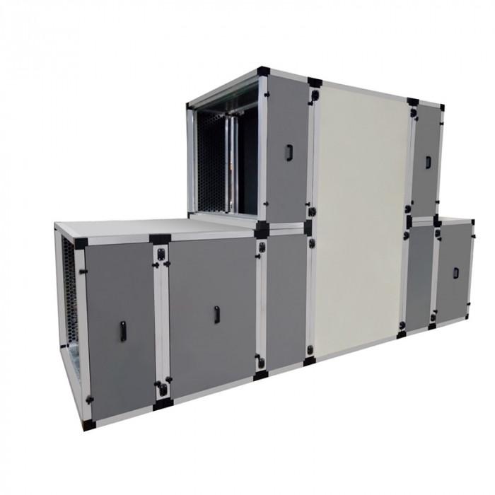 Приточно-вытяжная установка с рекуперацией тепла и влаги Turkov CrioVent 25000 SW