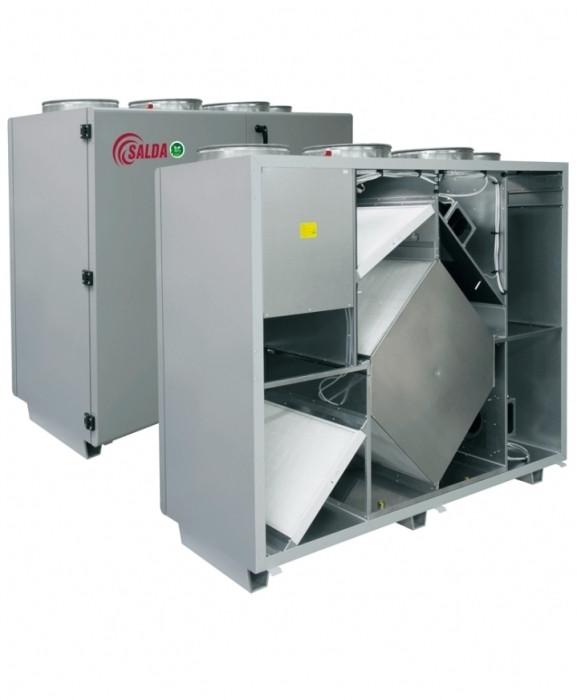 Приточно-вытяжная вентиляционная установка 2000 м3/ч Salda RIS 1900 VWR EKO 3.0
