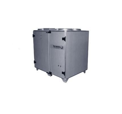 Приточно-вытяжная вентиляционная установка 2000 м3/ч Ostberg HERU 400 T RER